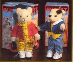 Rupert and Bill the Badger