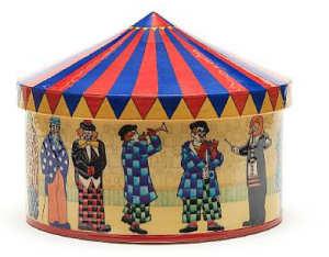 Circus With Clowns Big Top