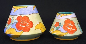 Shelley Pottery Vases