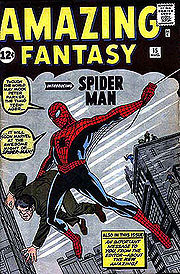 Amazing Fantasy #15 (August 1962)