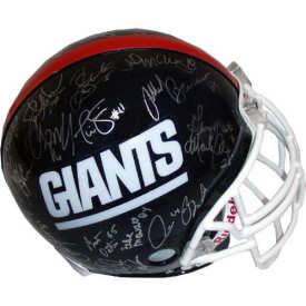 American Football Helmet Giants