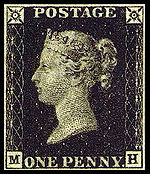 The Penny Black stamp