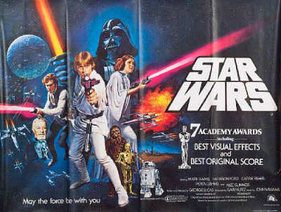 Star Wars Poster 1997
