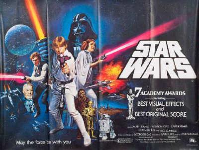 Star Wars Poster 1997