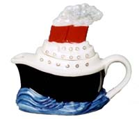 Tony Carter Ship teapot