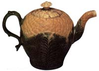 Wedgwood and Whieldon Cauliflower Teapot