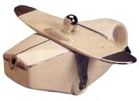 James Sadler Aeroplane Teapot