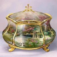 Thomas Kinkade Music Box