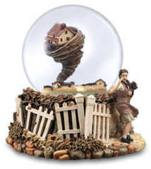 Wizard of Oz Tornado Waterglobe